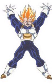 Vegeta SSJ DND