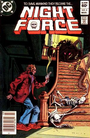 Cover for Night Force #8
