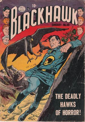 Cover for Blackhawk #48