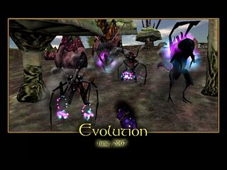 Evolution Splash Screen
