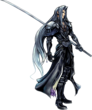 Sephiroth Dissidia Artwork