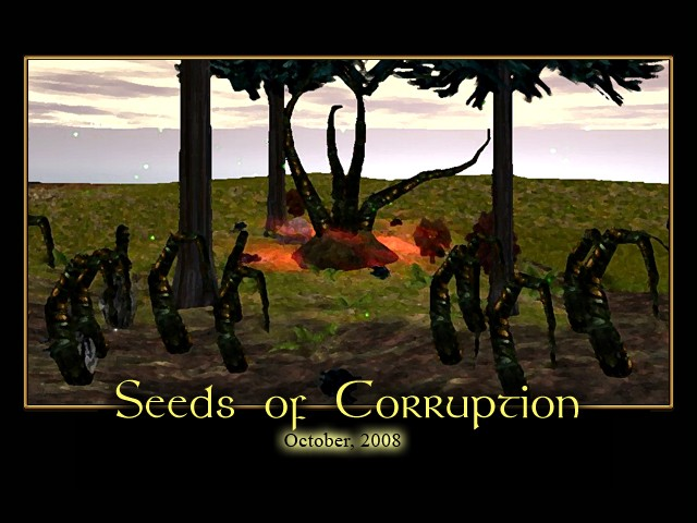 Seeds of Corruption Splash Screen
