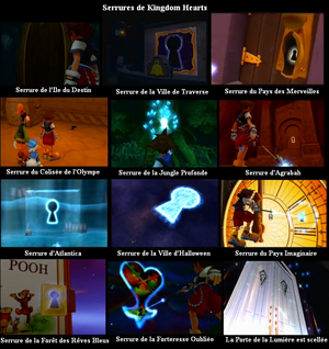 Serrures de Kingdom Hearts