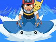 EP560 Ash corriendo con Mantyke