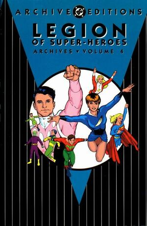 Cover for Legion of Super-Heroes Archives #4