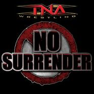 TNA No Surrender Logo