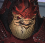 Wrex Character Shot