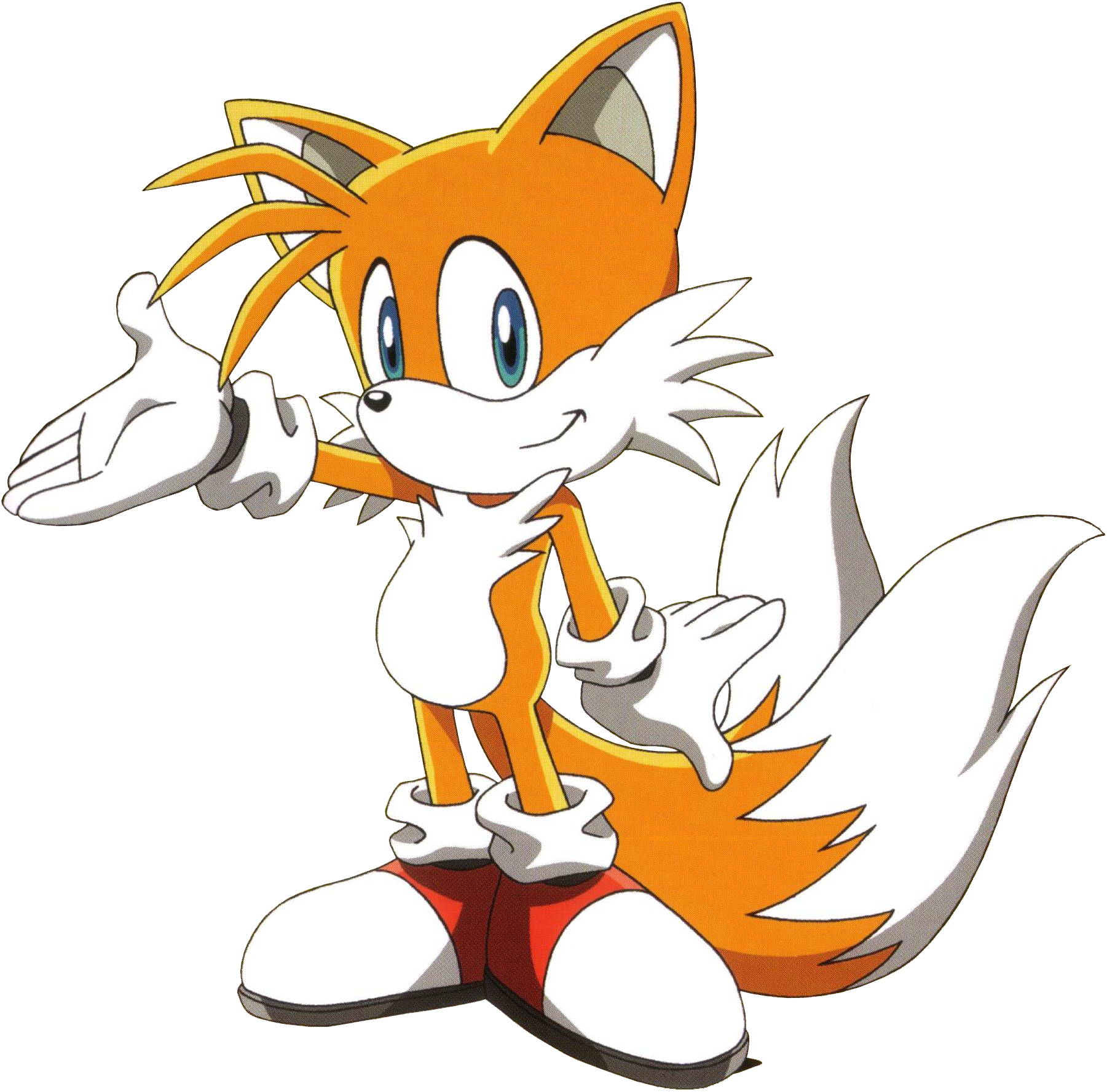 """Miles Tails Prower: Miles """"Tails"""" Prower (Sonic X)"""