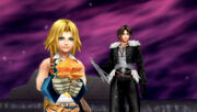 Squall and Zidane with crystals