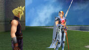 Cloud Firion shows rose