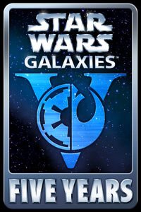 Star Wars Galaxies Five Years