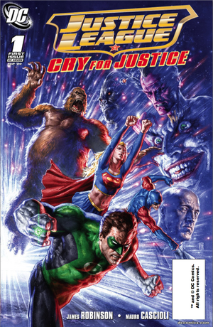 Cover for Justice League: Cry for Justice #1