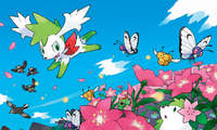 Shaymin y Shaymin cielo