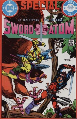 Cover for Sword of the Atom Special #2