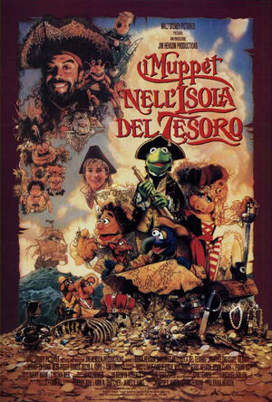 Italian-I-Muppet-nell&#39;Isola-del-Tesoro-Poster