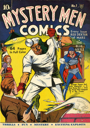 Cover for Mystery Men Comics #1