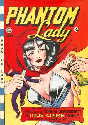 Cover for Phantom Lady (Fox) #18