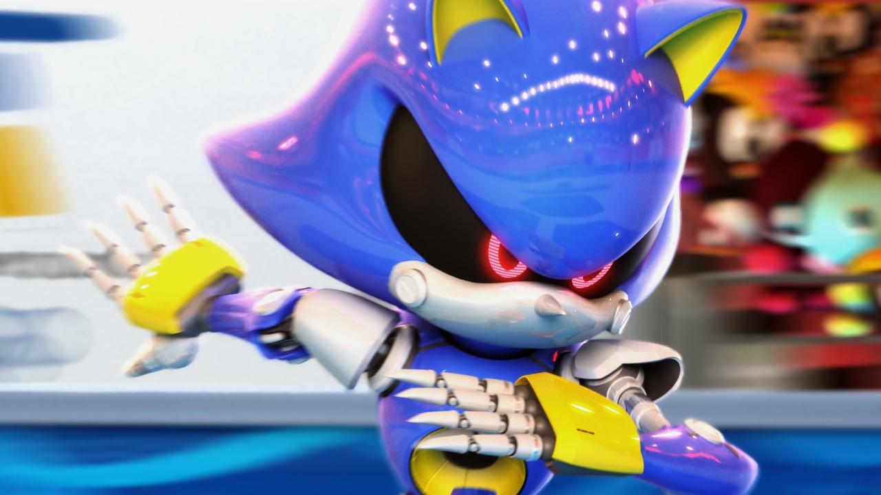 File:MASATOWG Metal Sonic by reggiebullock.jpg - Sonic News ...