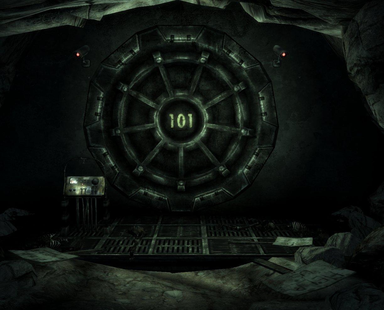 Fallout Vault 101 Door