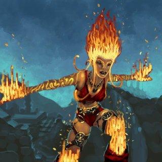 Image - Artwork Viridya Fire.jpg - The BattleForge Wiki ...