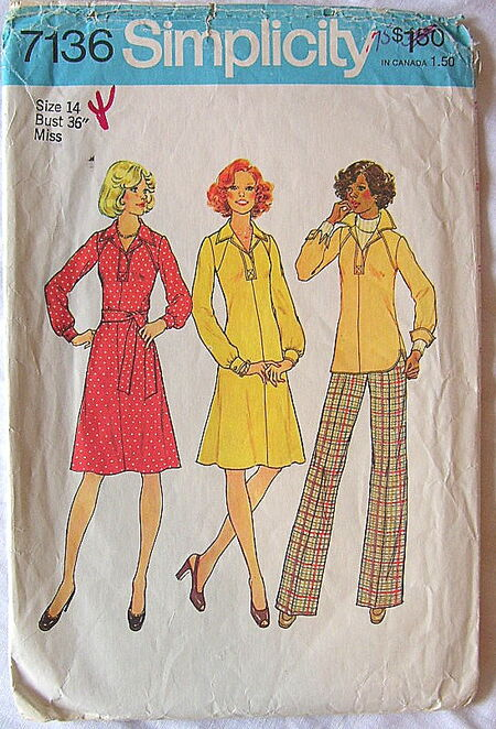 Simplicity 7136 A image