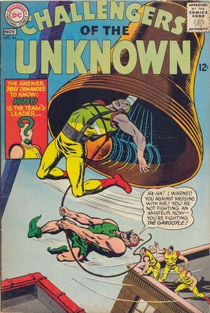 Cover for Challengers of the Unknown #46