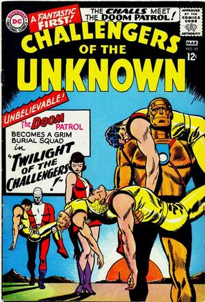 Cover for Challengers of the Unknown #48