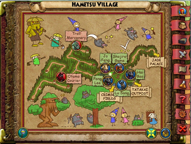 Hametsuvillage