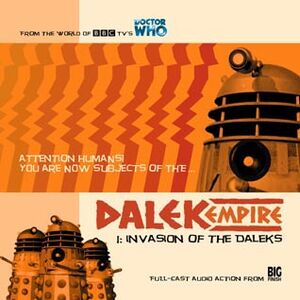 Dalek empire invasion of the daleks