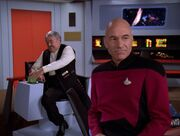Picard Scotty Enterprise Brcke