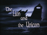 The Lion and the Unicorn-Title Card