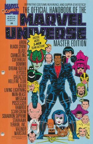 Official Handbook of the Marvel Universe Master Edition Vol 1 28