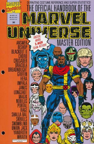 Official Handbook of the Marvel Universe Master Edition Vol 1 30