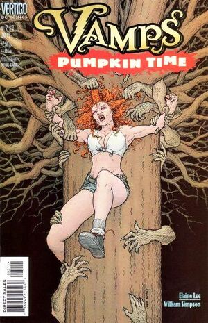 Cover for Vamps: Pumpkin Time #2