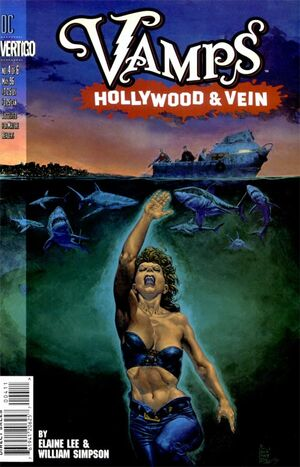 Cover for Vamps: Hollywood & Vein #4