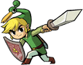 Link Artwork 3 (The Minish Cap)