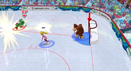 Mario Hockey scene 2