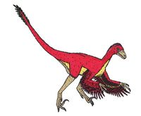 Bambiraptor recreation