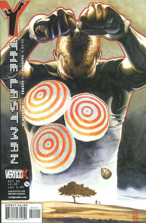 Cover for Y: The Last Man #14