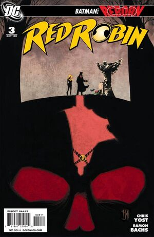 Cover for Red Robin #3