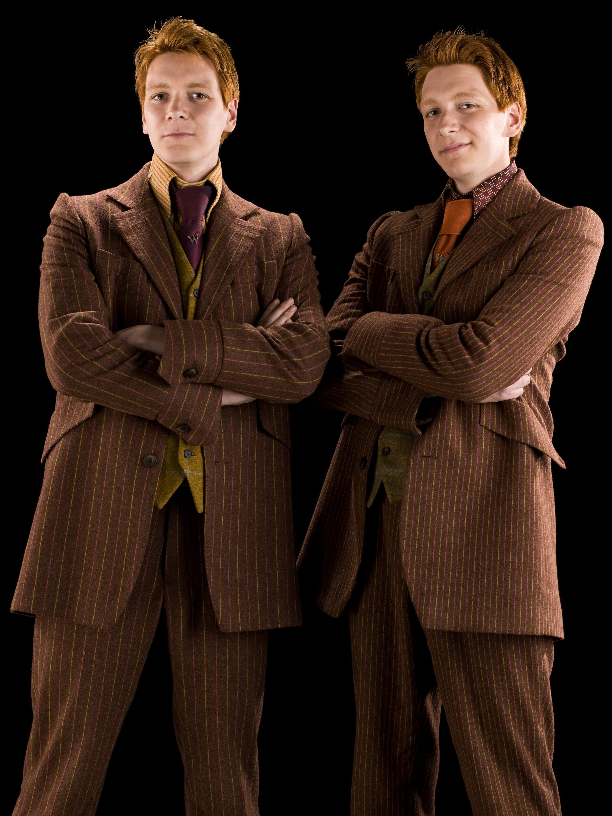 Fred and george weasley harry potter wiki