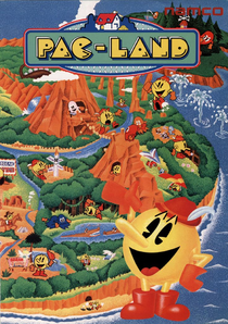 Pac-Land arcadeflyer