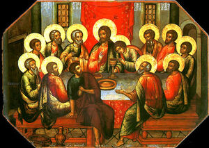 Simon ushakov last supper 1685