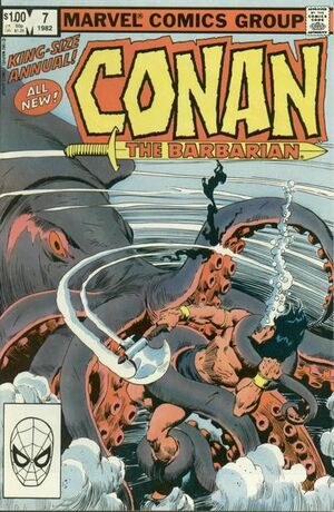 Conan the Barbarian Annual Vol 1 7