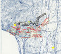 1863 09 20 chickamauga Snodgrass defensive line topo map.jpg