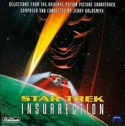 Star Trek Insurrection Soundtrack Cover
