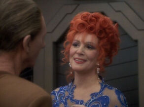 Lwaxana in love