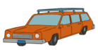 OrangeStationWagon