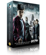 Portuguese six Harry Potter movies Box set