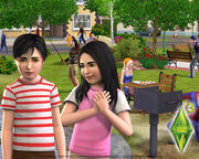 Bella and Mortimer children